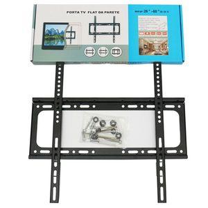 Panneau de support universel Support mural TV Flat TV Cadre avec Gradienter pour le moniteur LED à écran plat LCD Pan