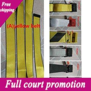 2019 Alla moda Cintura in tela di alta qualità Uomo Tempo libero Golden Yellow Belt Canvas Uomo Donna Cinture da 200 cm