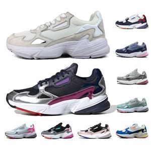 Whosale Falcon Zapatillas de running para hombre mujer Sliver MÚLTIPLES COLORES Sandía Triple blanco zapatillas deportivas para hombre zapatillas de deporte 36-45