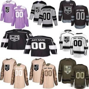 2019 Noticias de Los Angeles Kings jerseys del hockey de múltiples estilos para hombre de encargo cualquier nombre cualquier número de los jerseys del hockey