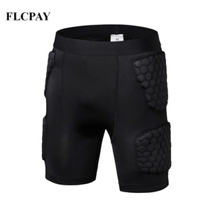 New Short Basketball Shorts Jersey Tight Football Jerseys Body Protection Male Cellular Protective Gear Crash Training Shorts