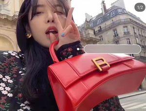 2019 donne Newset borsa di alta qualità del marchio tote bag Messenger bag clessidra originale spalla BORSA PICCOLA maniglia superiore della borsa insacca le borse