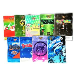Piadas UP BAG 3,5 g Certz Frosties ZOURZ Cheiro Bags prova Vape Embalagem SHARKLATO Neros Cutt 9 tipos
