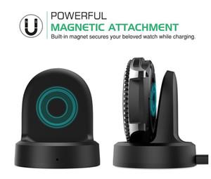 무선 1m USB 케이블 소매 포장 5 색 도크 요람 충전기 삼성 기어 S3 클래식 S2 시계를 충전