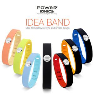Power Ionics 3000ions Sports Titane Étanche Bracelet Bracelet Améliorer L'équilibre Dormir Minceur Y19062901