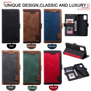 HH Luxury Hybrid Retro Wallet PU Leather Case For Huawei P30 Lite P40 Pro Y7P Y5 Y6 Y7 2019 XiaoMi CC9 CC9E 9 10 A3 RedMi K20 Note 7 8 8T 9