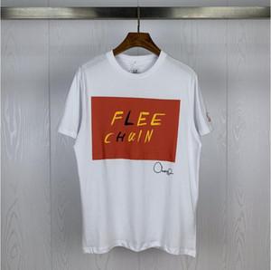 İyi kalite ile 2020 Tide marka CP ŞİRKET kapsül serisi sınırlı sayıda basılan yuvarlak boyun kısa kollu tişört