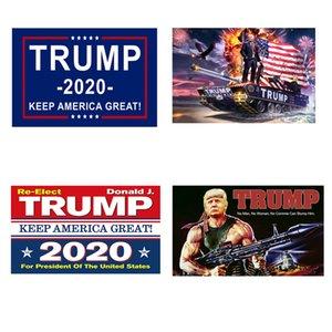Trump Bayrağı 150 * 90cm Trump 2020 Tut Amerika Büyük Donald Trump Amerikan Başkanı Bayrak Tankı Banner Bayraklar OOA8088