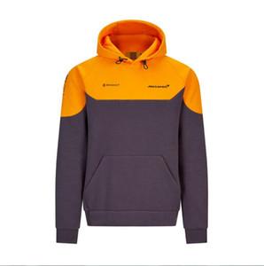 F1 2020 McLaren temporada método oficial da equipe McLaren esportes encapuzados modelos camisola-equipe Mercedes fleece camisola