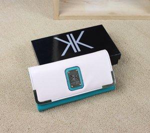 clutch Wallet KK Wallet Long Design Women PU Leather Kardashian Kollection High Grade Clutch Bag Zipper Coin Purse Handbag