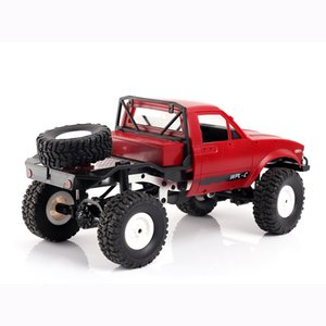 WPL C14 1:16 2CH 4WD Children RC Truck 2.4G Off-Road Car Electric RC Truck 15km H Top Speed RTR KIT Mini Racing Car Toy