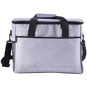 Outdoor Picnic Bag Waterproof and Large Capacity Insulated Bag Cooling Bag, Insulated Lunch Box, Beach   Picnic   Camping   Barb