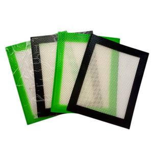 "Silicone Dabs Mat 4 x 5"" Food Grade Non Stick Silicone Fiberglass Concentrate Oil Wax Slick Dabbing Pads"
