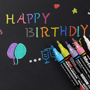 20190622 marca caneta 15 cor 20 cor terno diy cartão preto álbum booklet desenho estudante caneta arte