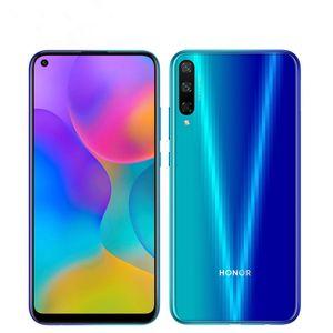 "Оригинальный Huawei Honor Play 3 4G LTE сотовый телефон 4GB RAM 64GB 128GB ROM Kirin 710 Octa Core Android 6.39"" 48MP Fingerprint ID OTA мобильный телефон"