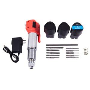 12V Drill carica cacciavite elettrico Dritto In Multi-Function Electric Lithium stelo dritto, trapano a batteria