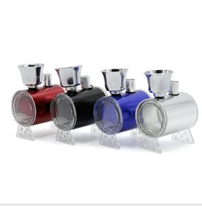 Mini-Kunststoff-Metall Hookahs Bong mit Schlauch Rauchen Wasserpfeife 3 Farben für Wasser-Zigarette Tabacoo Herbal Werkzeug-Zubehör