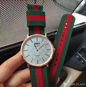 high quality Luxury Ladies watch Casual Nylon Fabric Women Watch Sports Quartz-Watch Relojes Waterproof Wellington Clock