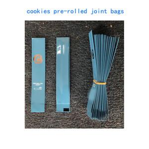 새로운 빈 쿠키 캘리포니아 SF 0.58g의 드라이 허브 냄새 증명 마일 라 가방 포장 공동 가방을 중고 압연