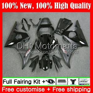 Stock black Body For YAMAHA YZF600 YZF R6 03 04 05 YZFR6 03 04 05 89MT1 YZF 600 R 6 YZF-R600 YZF-R6 2003 2004 2005 Fairing Bodywork Kit