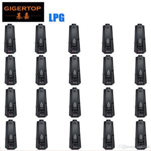 TIPTOP 20XLOT sei Angle Nuovo Stage Equipment Effetto proiettore della fiamma di GPL / Fuoco Macchina DMX Metano 200W Decoration Nightclub Fase