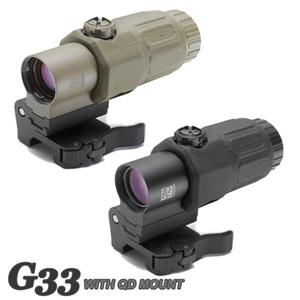 ET стиль 3x Magnifier Голографический прицел 3X Magnifier с выключателем на боковой быстроразъемные горы