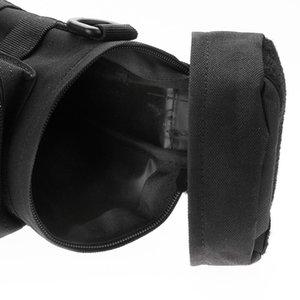 Extérieur durable Molle Bouteille d'eau Pochette Tactical Gear Bouilloire taille Sac à bandoulière pour l'escalade militaire Camping randonnée Sacs