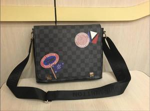 Diseñadores de lujo bolsas de mensajero de los hombres del bolso de hombro genuino del monedero del totalizador de la serpiente bolsas de mano Bolsas de Wallet