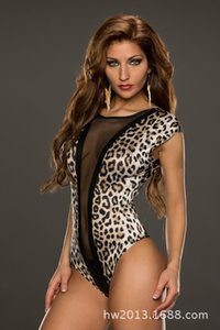 Uniform close-fitting sexy PU sexy body-shaping temptation pajamas swimsuit steel pipe Underwear Swimsuit underwear