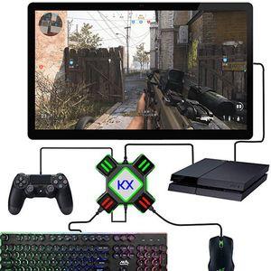 Gamepad controlador de conversor para PS4 teclado mouse adaptador Xbox Uma Nintend Mudar Emulator Suporte FPS Jogo Handle Acessórios T191227