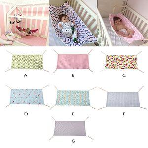 7styles Newborn Crib Infant Hammock Baby Hangmat printed Travel portable Baby Sleeping Bed Detachable Bassinet Crib Hammock 100*70CM DA053
