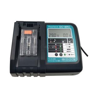Reemplazo del cargador de batería de iones de litio 3A para herramientas eléctricas de marca famosa Destornillador eléctrico DC18R / 18RA BL1830 / 1815/1840/1850 14.4V-18V