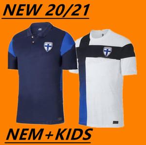 2020 nouveaux hommes Finlande maison maillot de foot blanc Pukki KEMPPI ENGMAN Maillot de foot HRADECKÝ adultes et enfants uniformes