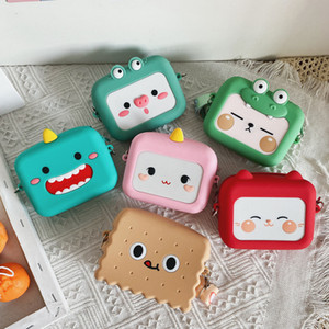 Taschen für Kinder Platz Tasche Umhängetasche Mode-Handtasche-Telefon-Beutel-Silikon-Dame-Geldbeutel und Handtaschen Umhängetasche Box M200623