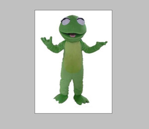 2020 High quality the head adult A cute frog mascot costume for sale