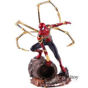 Marvel Studios Avengers Figur Eisen Spiderman 1/10 Skala Spider Man Action Figure Statue PVC Sammeln Modell Spielzeug SH190915
