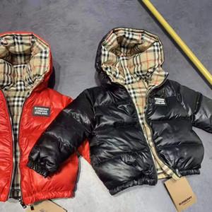 marque B-vêtement d'hiver manteau chaud enfants Vêtements coupe-vent Thicken Garçons Filles Manteau