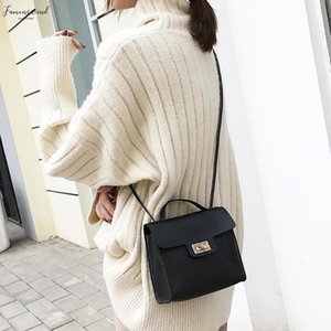 Casual Women Shoulder Square Phone Handbags Solid Color Leather Crossbody Satchel Pu Bags
