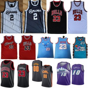 NCAA Michael 23 M. J MJ Jersey 2 Gigi Aaron 0 Gordon Mike Conley 10 Männer College-High-School-Basketball-Trikots