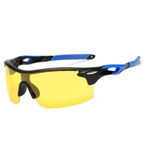 Polarized Men Women Night vision Sunglasses Sport Drive Yellow Lens Vintage Square Male Female Sun Glasses for men High quality