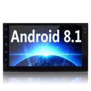 Android 8.1 Double Din Car Stereo Eincar 2 DIN GPS Navigation 2 + 32G Радио 7-дюймовый сенсорный экран In-Даш автомагнитол Bluetooth Wi-Fi 4G Автомобильный DVD