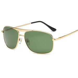 Neue Ankunft Markendesigner Pilot Sonnenbrille Glaslinse Für Männer Frauen Männlich 60mm Driving Gläser UV400 Brillen Oculos gafas de sol Mit Fällen