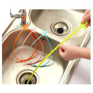 51cm Serpent drain Weasel cheveux Clog outil Kit de démarrage pour Deboucheurs Outils de nettoyage de ménage avec Opp Paquet XD23339