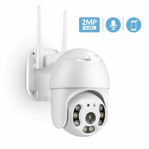 1080P HD IP Kablosuz PTZ CCTV Açık Kamera WiFi Güvenlik Su geçirmez IR Gece