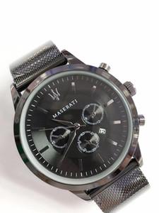 2019 reloj hombre бренд часы мужские дизайнерские часы мужские модные роскошные часы Maserati мужские часы браслет скидка часы