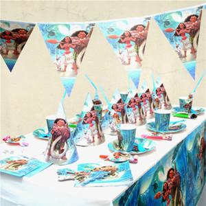 1pc Minion Thème Cartoon Party Set Plaque Vaisselle jetable Serviettes Bannière anniversaire Bonbonnière bébé douche Réceptions Décor