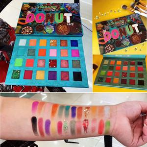 IMEAGO Criações Donut Eye shadow Paleta de Abacate Maquiagem Sombra 24 cores Nudez Matte Shimmer Glitter Sombra de Olho Em Pó Beleza Cosméticos