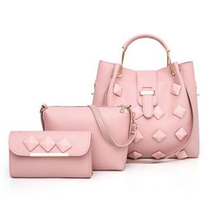 Pop2019 Klassische Taschen Für Frauen Pu Leder Frauen Handtaschen Und Crossbody Taschen 3 Sätze Tasche