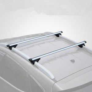 CARSUN 1x universal barras de techo de aluminio de equipaje Caja Cruz Roof Bar riel superior caja de equipaje Barco portador de soportes de coches 110-135cm
