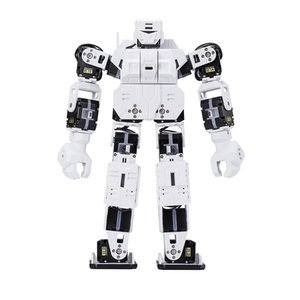 New Hot 27cm My DIY Robot Creative Time LINE-Core M Graphical Programmable Humanoid Robot Educational Robot Kit - White Red Blue